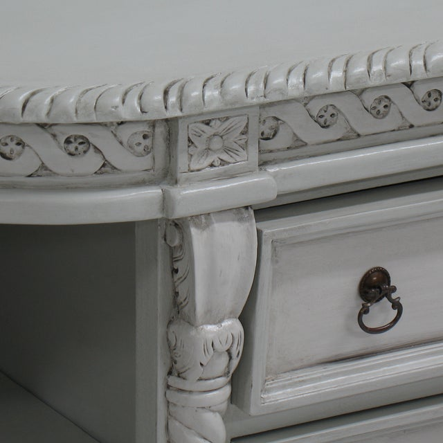 Painted Buffet with Lion's Feet - Image 7 of 7