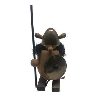 Danish Mid Century Viking Figurine For Sale