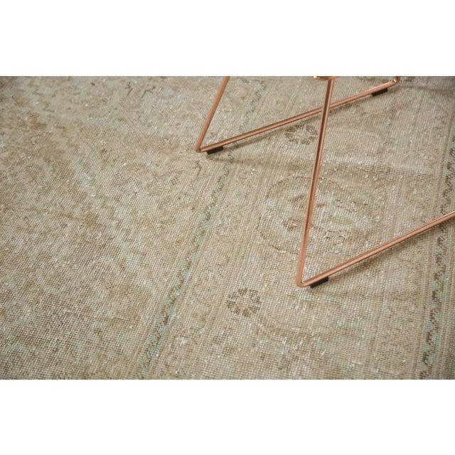 "Vintage Distressed Mahal Carpet - 10'3"" x 13'8"" For Sale - Image 5 of 10"