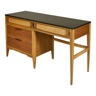 1960s Kent Coffey Walnut Tempo Desk For Sale