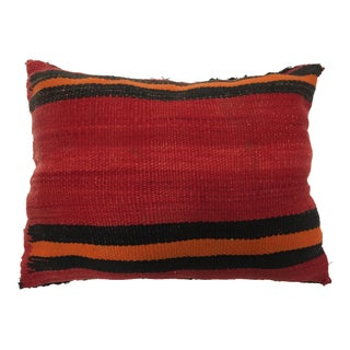 Vintage Moroccan Berber Hand Woven Pillow For Sale