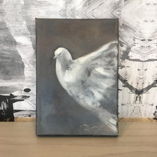 """""""Dove Study, No.1"""" Original Painting by Donna Hughes Preview"""