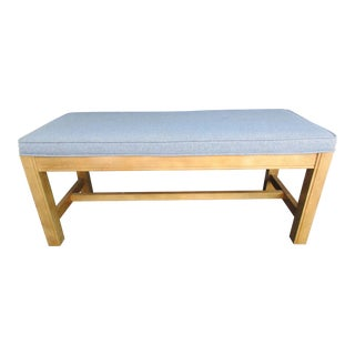 American of Martinsville Custom Upholstered Bench
