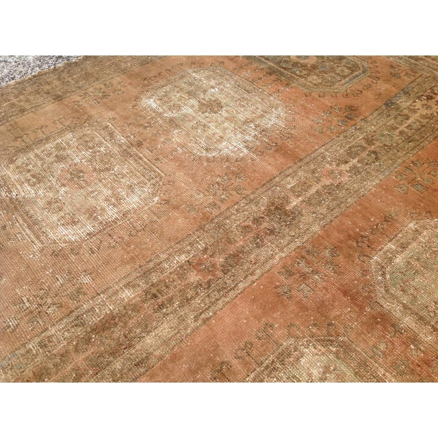 Oversized Vintage Oushak Rug For Sale In Raleigh - Image 6 of 9