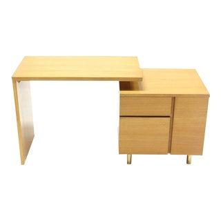 Mid-Century Modern Revolving Folding Desk For Sale