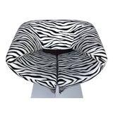 Image of 1980s Vintage Zebra Design Pierre Paulin Chair For Sale