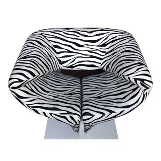 1980s Vintage Zebra Design Pierre Paulin Chair** For Sale