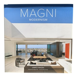 Magni Modernism Hardback Coffee Table Book by James Magni For Sale