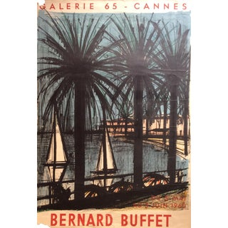 Original Vintage Bernard Buffet Poster Printed by Mourlot For Sale