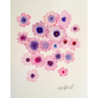 Original Geranium Watercolor