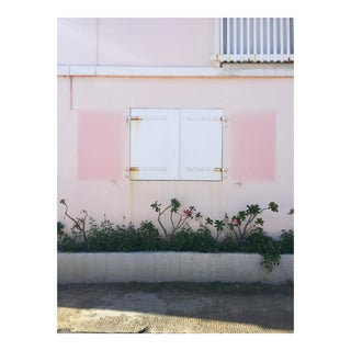"Contemporary Large Photo Pigment Print, ""Pink Shutter"" by Nicole Cohen"