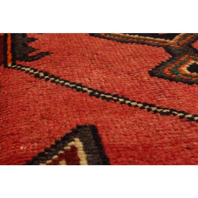 "Vintage Kurdish Rug, 4'2"" x 7'6"" - Image 2 of 2"
