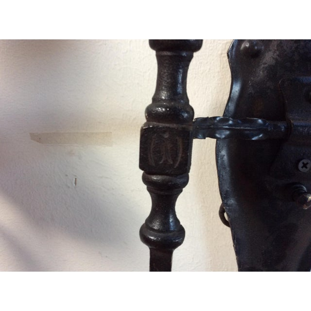 1920s Antique Arts & Crafts Style Sconces - Set of 4 For Sale - Image 5 of 8