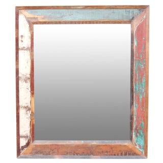 Rustic Multicolor Mirror