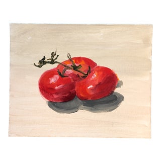 Original Contemporary Still Life Painting Study Tomatoes