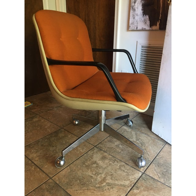 Chrome Vintage Steelcase Office Chairs - A Pair For Sale - Image 7 of 7
