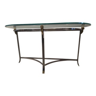 Art Deco Style Bronze Console For Sale