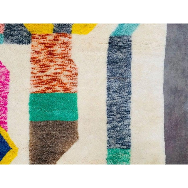 """Not Yet Made - Made To Order Moroccan Beni Ourain Mrirt Rug-8'x10"""" For Sale - Image 5 of 9"""
