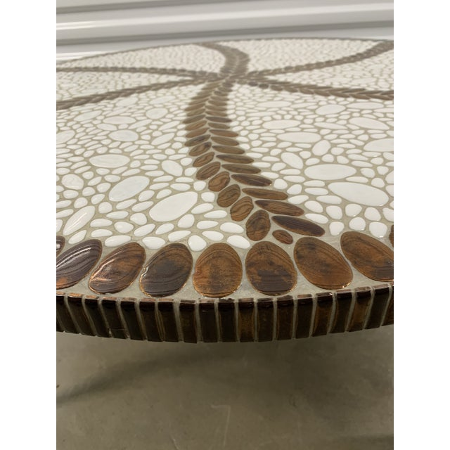 Vintage Mid-Century Modern Tile Coffee Table For Sale In Richmond - Image 6 of 10