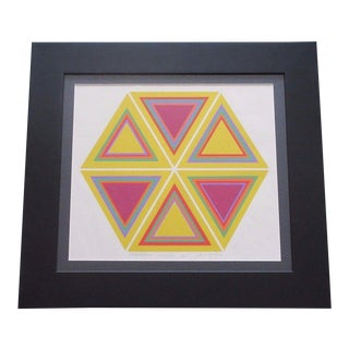 20th Century Pop Art Geometric Print by Robbin Vaccarino For Sale