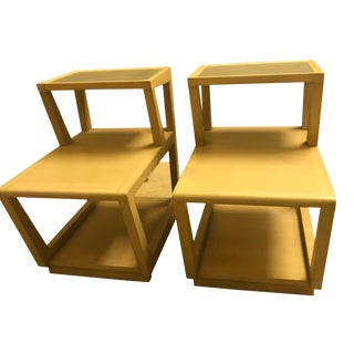 Edward Wormley for Drexel Side Tables Mid Century Modern - a Pair For Sale