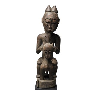Lagoons Region Sculpture of an Animal and Rider For Sale