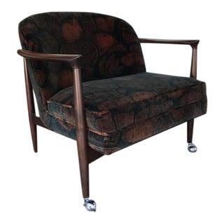 1960s Mid-Century Modern Kofod Larson Arm Chair For Sale