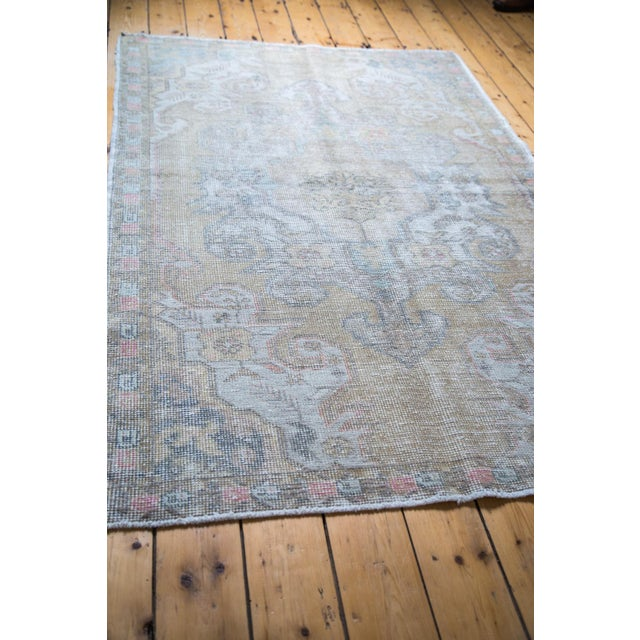 "Gold Leaf Distressed Oushak Rug - 4'3"" X 6'9"" - Image 3 of 5"