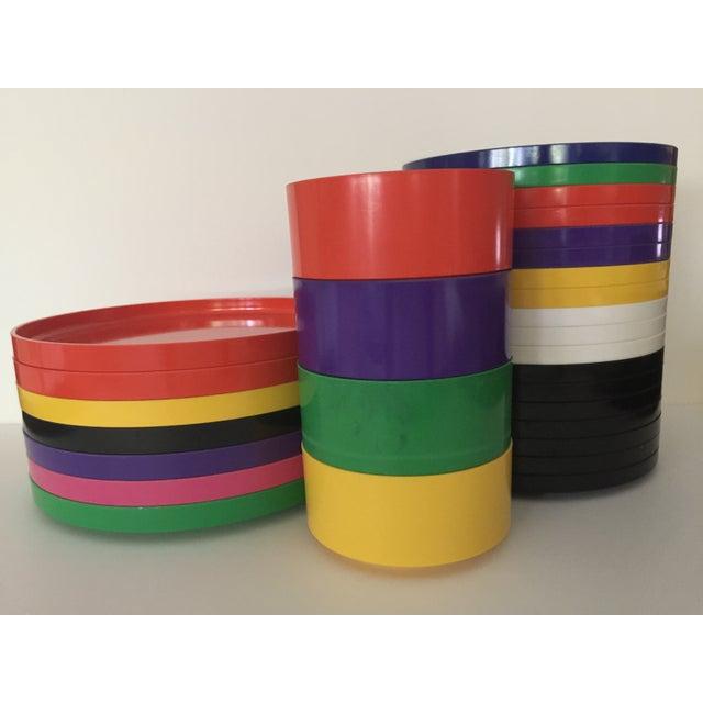 Massimo Vignelli Dining Set - 29 Pieces - Image 3 of 7