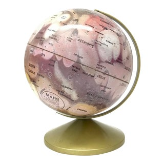 1970s Mars Globe by Replogle