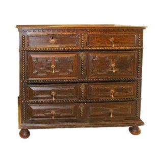 Late 17th Century - Early 18th Century Pilgrim Chest For Sale