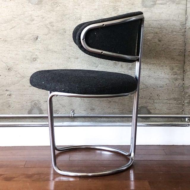 1950s Vintage Barrel Back Modernist Chair For Sale - Image 5 of 9