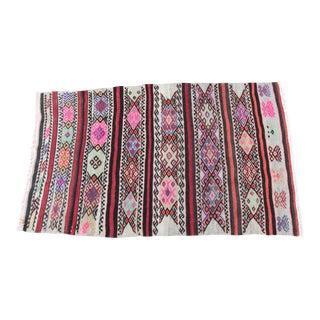 Vintage Anatolian Kilim Rug - 4' x 2' 5''