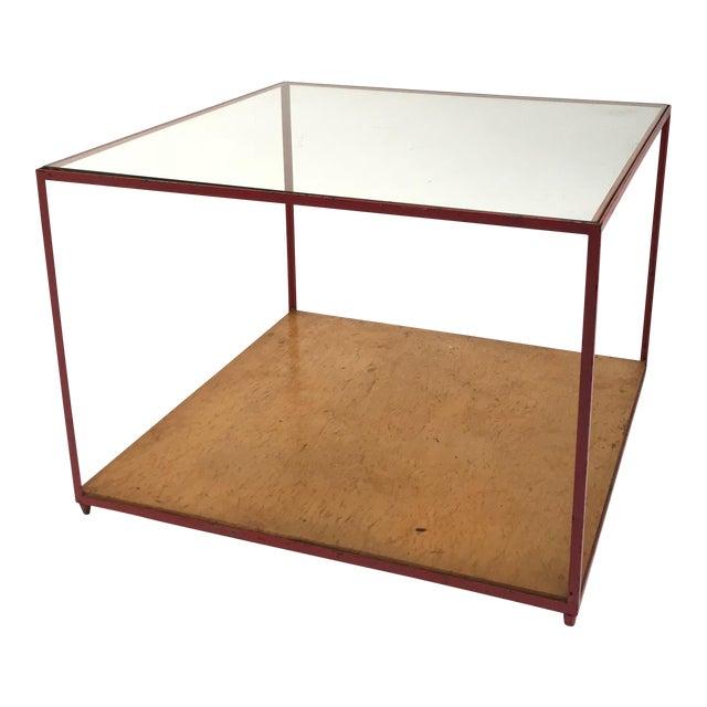 Dunbar Steel Frame Cocktail Table For Sale
