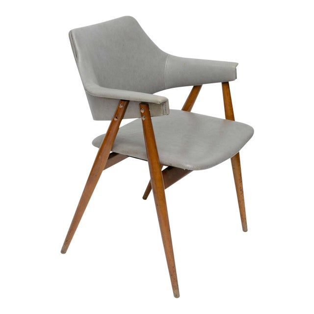 Wooden MCM Chair Attributed to Paul McCobb 1950 For Sale