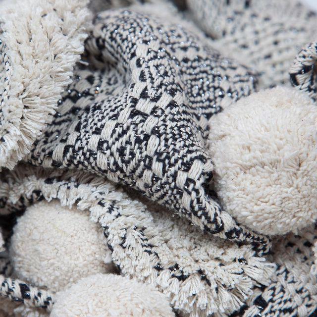 Zenza Boho Nomad Woven Cotton Throw - Image 2 of 2