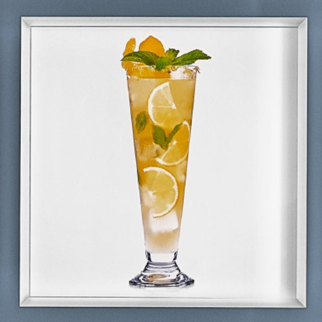 'Sparkling Gin-Gerade' Limited-Edition Cocktail Portrait Photography For Sale