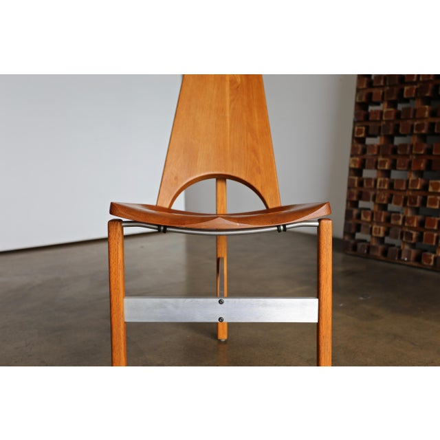 Brown Leon Meyer Studio Occasional Chair, Circa 1977 For Sale - Image 8 of 10
