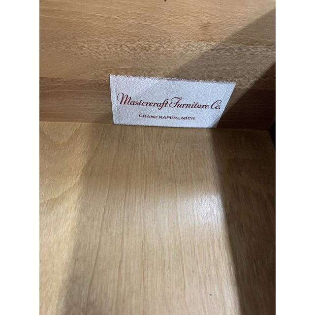 Mid Century MasterCraft Colossal Burl Wood Dresser For Sale In Los Angeles - Image 6 of 11