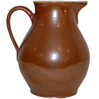 19th Century Rustic American Pitcher For Sale