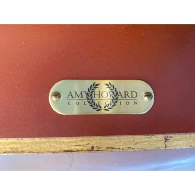Early 21st Century Amy Howard Inlaid Wood Coffee Table For Sale - Image 5 of 12
