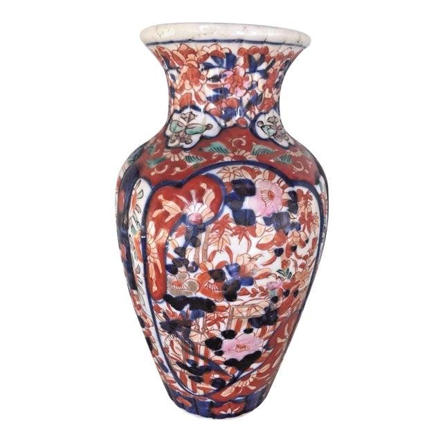 Antique 1860 Japanese Imari Porcelain Vase - Image 1 of 5