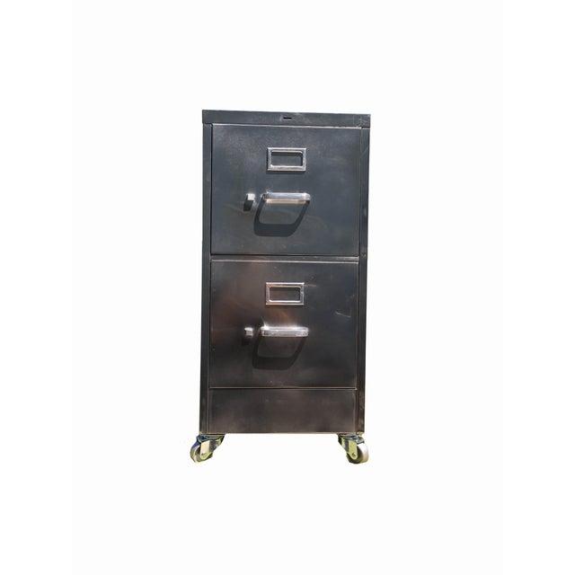 Vintage Steel File Cabinet - Image 3 of 5