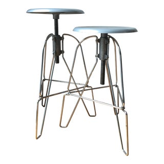 Jeff Covey Drafting Stool - a Pair For Sale