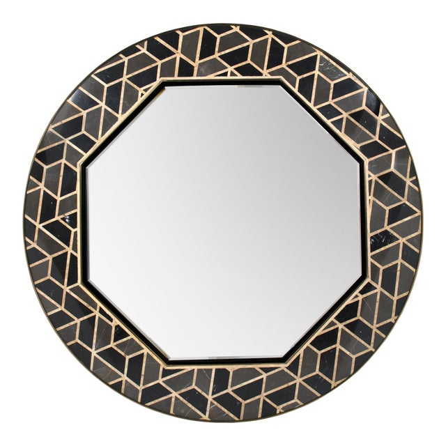 Tortoise Mirror From Covet Paris For Sale
