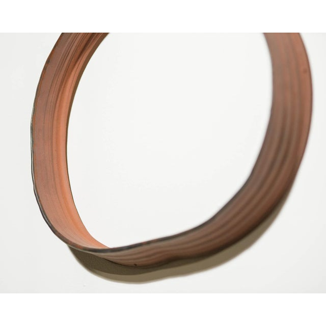 """Contemporary Yokky Wong """"Cycles"""" Series Wall-Mounted Porcelain Ring Sculpture For Sale - Image 3 of 12"""