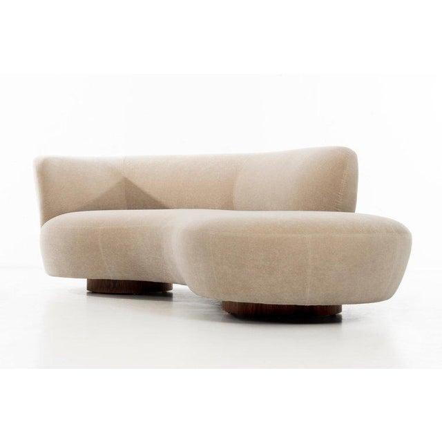 Tan Vladimir Kagan Cloud Sofa For Sale - Image 8 of 13
