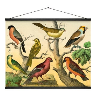 7 Birds Wall Hanging