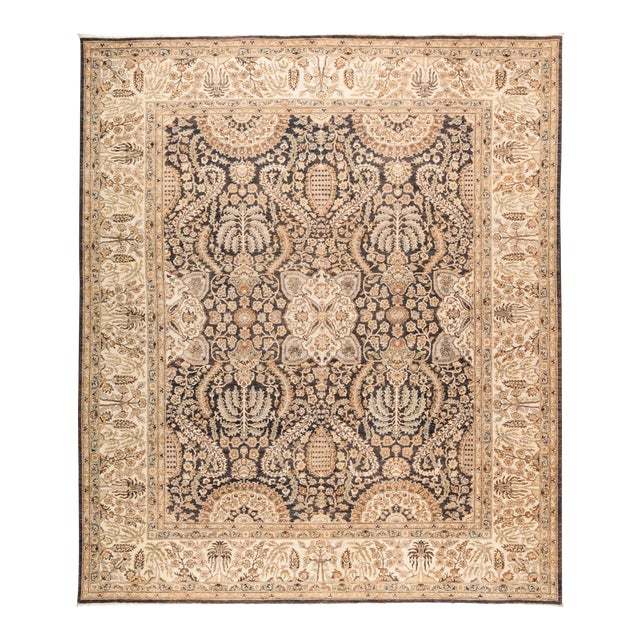 "Oushak Hand Knotted Area Rug - 8' 0"" X 9' 7"" - Image 1 of 4"