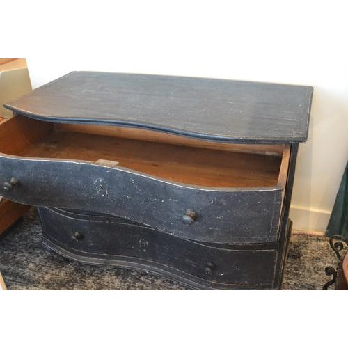 Black Black Chest of Drawers, 19th Century For Sale - Image 8 of 9